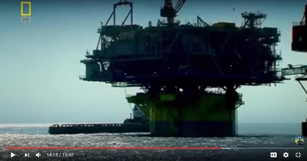 Photo of شاهد فيديو أضخم منصة حفر ابار بترول وغاز طبيعى فى العالم