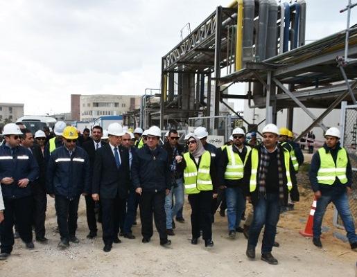 11صورة لجولات ولقاءات وزير البترول المهندس طارق الملا خلال شهر يناير 2017