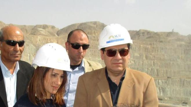 بدء جولة وزير البترول ومحافظ الوادى الجديد فى أبوطرطور لمتابعة إستعدادات انشاء أول مجمع للأسمدة الفوسفاتية