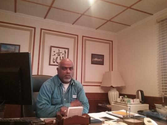 المهندس نصر محمود مدير إدارة المشروعات بموقع حقول بدر3