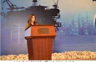 قيادات ورؤساء شركات البترول الاجنبية المشاركين فى مؤتمر حوض البحر المتوسط مو2018