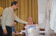 صور..العاملون بالشركة العامة للبترول يشاركون بكثافة فى انتخابات النقابة ومجلس الإدارة