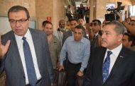 صور .. وزير القوى العاملة يتفقد العملية الانتخابية بالشركة العامة للبترول