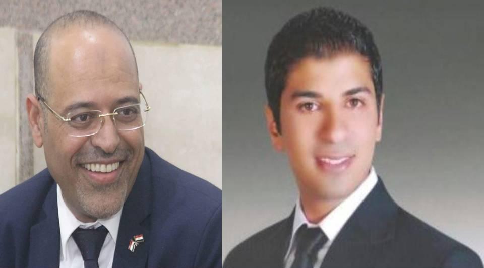 أحمد الجوهرى يهنىء محمد جبران لاختياره نائباً لرئيس اتحاد عمال مصر