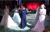 «كوليكشن» عبايات وفساتين منى المنصورى يخطف أنظار سيدات مجتمع الـ « VIP » فى موسكو.. صور
