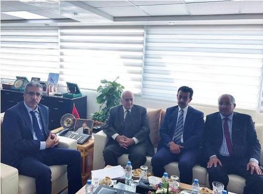وزير الطاقة المغربى يستقبل الأمين العام لـ