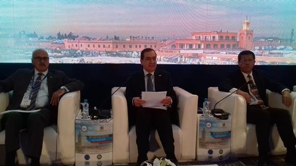وزير البترول يترأس الجلسة الوزارية لمؤتمر الطاقة العربى الحادى عشر..صور