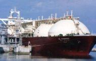 ناقلة الغاز المسال هوج جالانت تغادر مصر إلى الولايات المتحدة