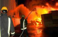 وزارة البترول تعلن تفاصيل حريق مستودع شركة الاسكندرية للبترول وجارى السيطرة على الحريق