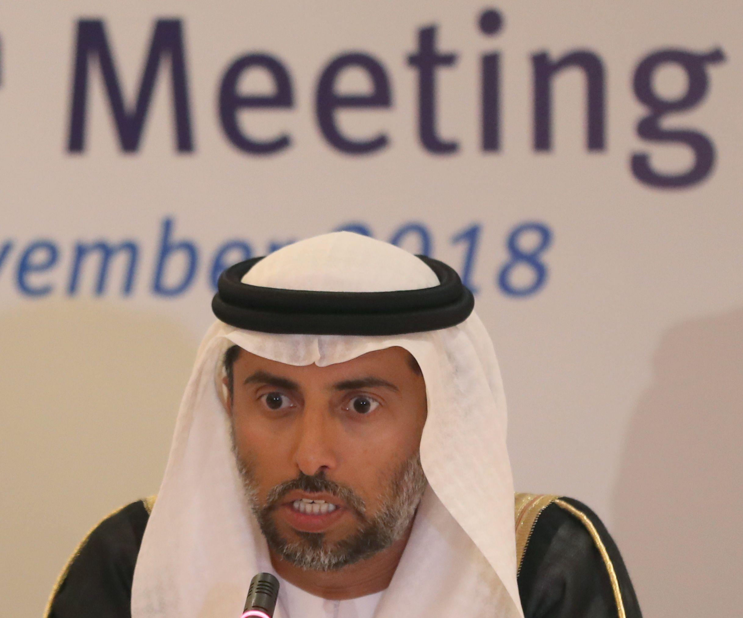 وزير الطاقة الإماراتي يتوقع توازن سوق النفط في الربع الأول