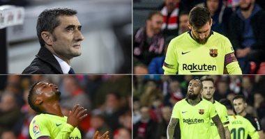 أخبار برشلونة اليوم حول فوضى البارسا بعد فقدان 4 نقاط فى الدورى الإسبانى