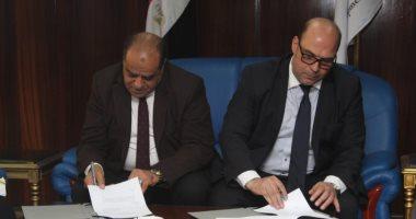 توقيع عقد بين مركز إعداد القادة وشركة المحاريث والهندسة لتطويرها