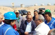 رئيس جابكو يشيد بجهود العاملين فى إنجاز الأعمال المطلوبة بمحطة أكتوبر ومصنع غازات عبر الخليج