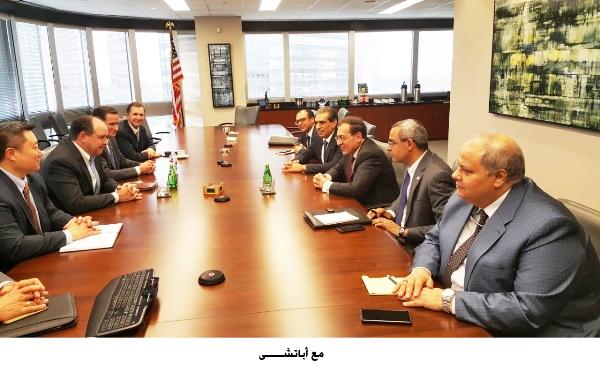 وزير البترول على مائدة أهم تجمعات الطاقة...