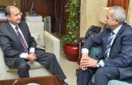 وزير التجارة يبحث مع رئيس أكاديمية النقل البحرى تعزيز التعاون المشترك