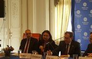 «الملا» يستعرض أمام معهد الشرق الأوسط الأمريكى خطط تحول مصر إلى مركزًا لتداول الطاقة