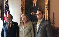 وزير البترول يبحث مع مساعدة الرئيس الأمريكي تطوير الشراكة فى مجال الطاقة