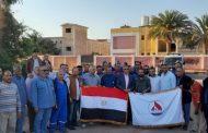 العاملون بالسويس للزيت فى موقع رأس بدران يشاركون فى الاستفتاء على تعديل الدستور