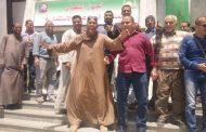العاملون بمنطقة كهرباء مصر الوسطى يشاركون بقوه فى الاستفتاء على تعديل الدستور