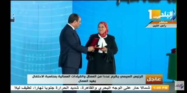 عمرو خفاجى يكتب:شكرا رئيس الجمهورية لتكريم اثنين من قامات نقابة البترول