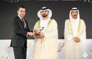 عالم مصري يحصل على جائزة فئة أفضل مبادرة في