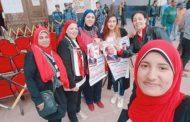مشاركة فعالة للجنة المرأة بالإتحاد المحلى لنقابات عمال الأسكندرية فى التعديلات الدستورية