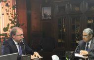 وزير الكهرباء يبحث مع «VOITH» الألمانية التعاون المشترك