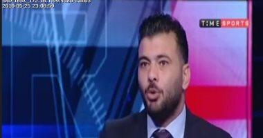 عماد متعب لـ تايم سبورت : الفراعنة اسم كبير فى القارة ومروان محسن يتعرض للضغط -