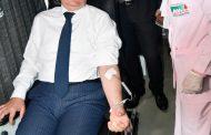 وزير البترول يتبرع بالدم فى مبادرة الوزارة بالشركات والحقول