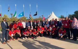 بالصور: وزير الرياضة من المغرب... البعثة المصرية تخطو بثبات نحو تحقيق ما يسعد الشعب المصرى