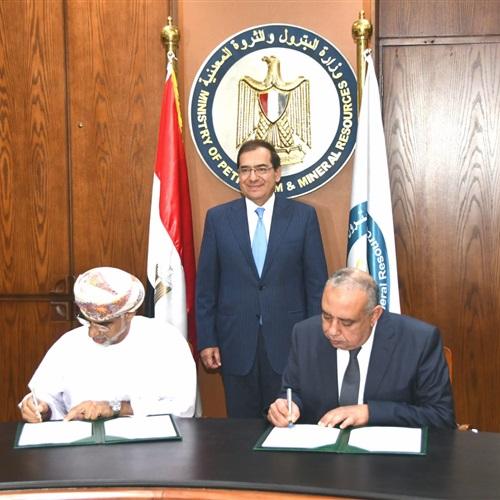 توقيع مذكرة تفاهم بين مصر وعُمان لتعزيز التعاون في مجال البترول والغاز